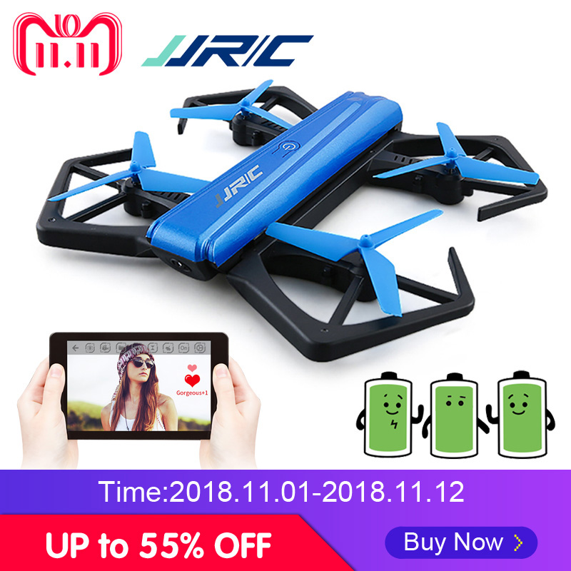 JJR/C JJRC H43WH H43 Foldable Arm RC Quadcopter Selfie WIFI FPV HD Camera Altitude Hold Headless Mode Dron Stable Flight