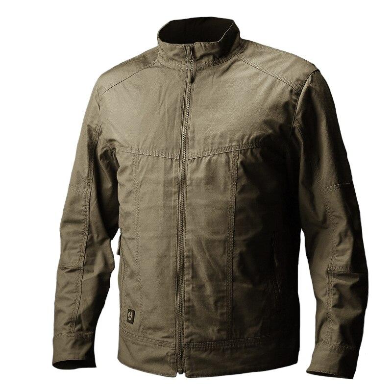Vêtements Hommes Automne Veste Tactique Manteau Militaire Armée Vêtements Casual Manteau pour Hommes Casaco Masculino Veste Homme