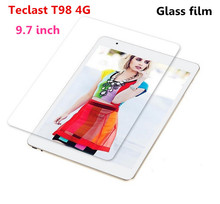 "For Teclast T98 4G LTE 9.7"" Tablet Tempered Glass Screen Protector Premium Front Clear Protective Film Cover"