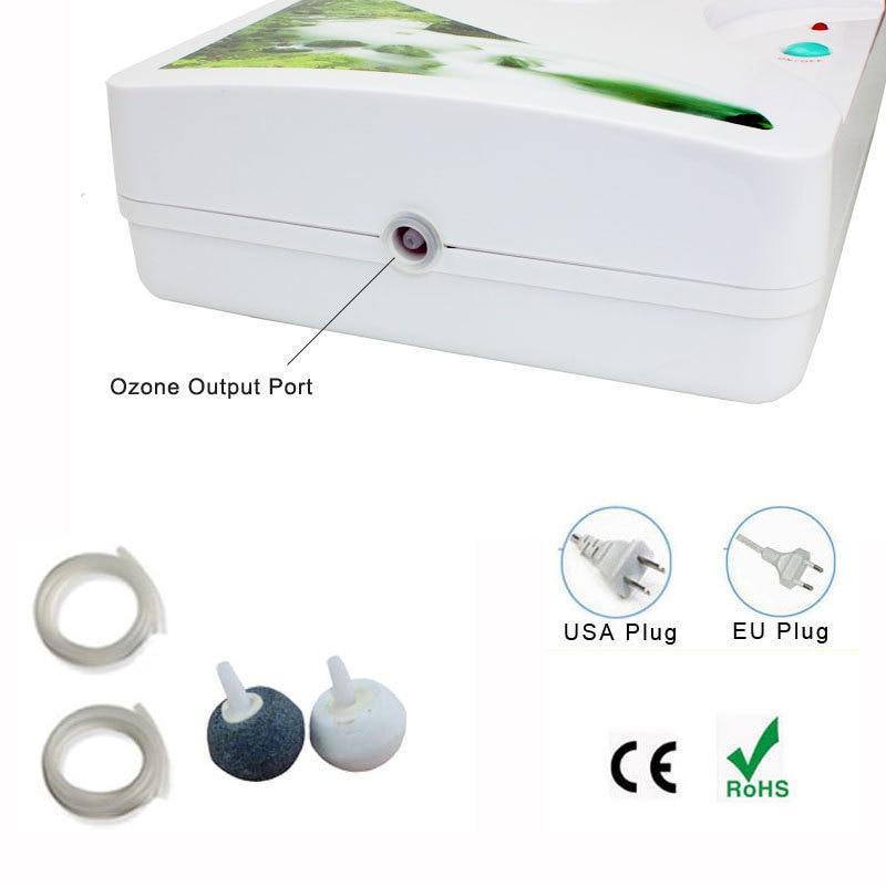 Бытовой озоновый генератор очиститель воздуха 110В 220В портативный концентратор кислорода Ozonizador Ozonio озонатор Purificador De Aire