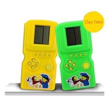Pocket Game Console Handheld Games For Kids Classic Tetris Puzzle Portable Game Player Console De Jeux Children Toys Wholsales