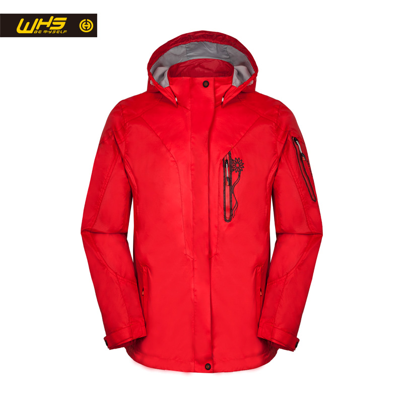 WHS 2016 New Leisure Jacket Women Autumn outdoor hiking coat Windbreaker large clothes Hot models Spring XXL-5XL dhl ems new nemicon encoder hes 25 2ht good in condition for industry use a1