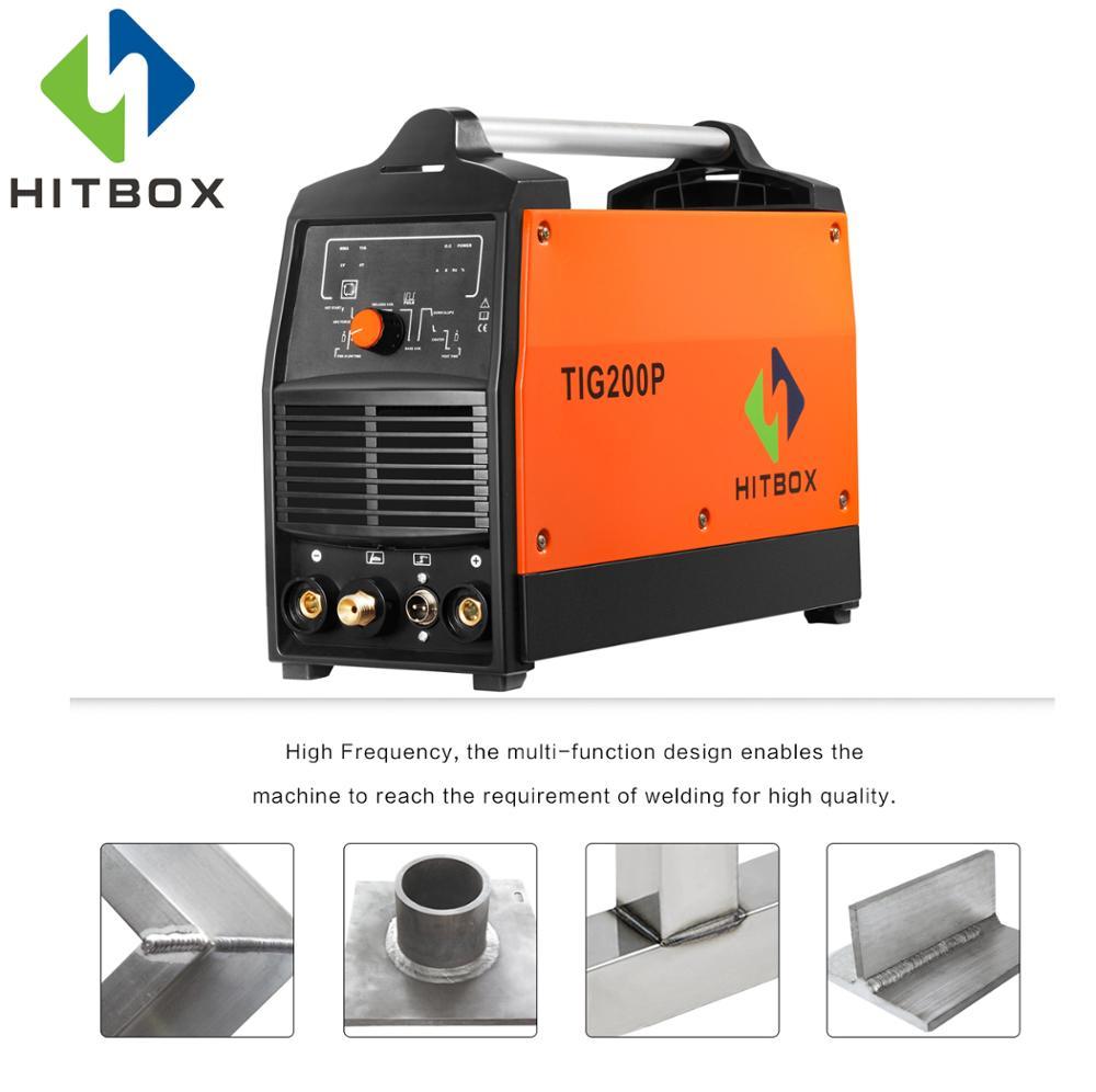 US $262 39 20% OFF|HITBOX Tig Arc Pulse Tig Welder With Standard  Accessories For sale 220V Welding Machine Functional Welder Tig200P-in Arc  Welders