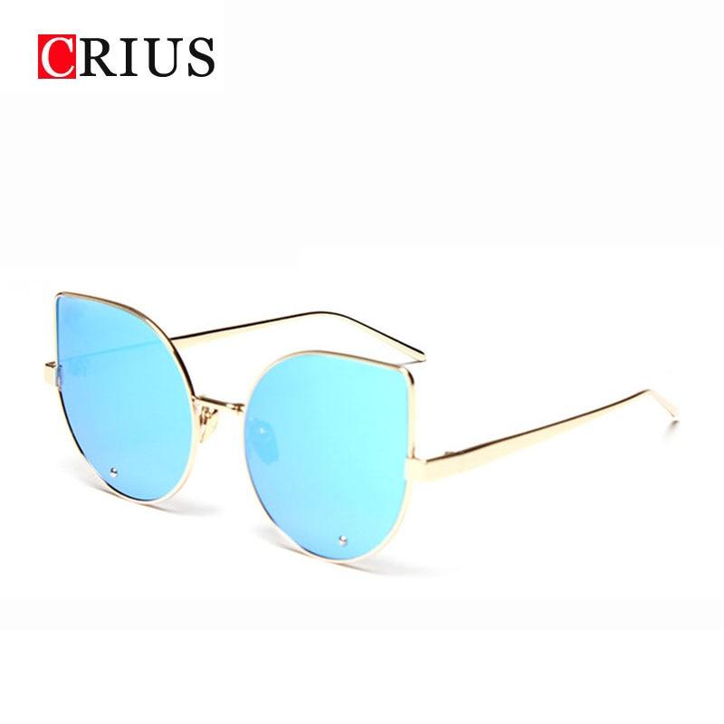 T CRIUS new womens sunglasses women sun glasses brand design vinage metal classic oculos de sol feminino