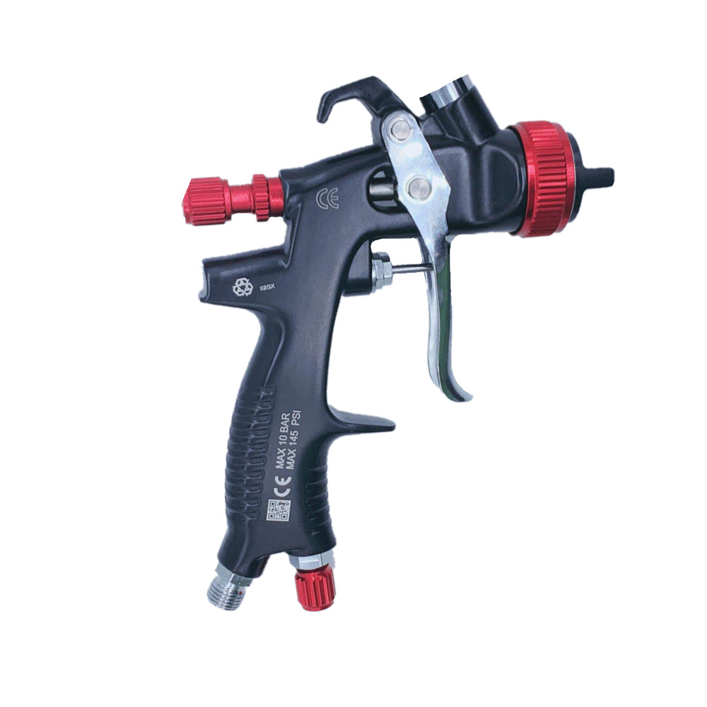 Image 2 - WAERTA 716 1.3mm Nozzle Professional Spray Gun Sprayer Paint Air Mini Spray Gun for Painting Cars Aerograph Tool-in Spray Guns from Tools on