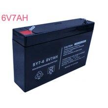 6V свинцово-кислотный технология изготовления свинцово-кислотных аккумуляторов пакет клетки батареи 7AH для Рюкзаки-кенгуру, колыбель Багги бесплатное техническое обслуживание