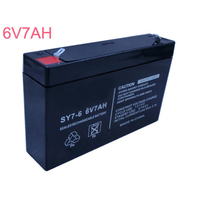 6V Lead Acid Rechargeable Storage Battery Cell Pack 7AH For Baby Carrier Bassinet Buggy Maintenance Free