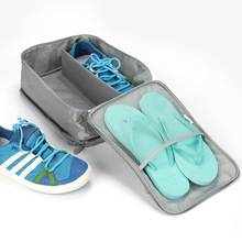Flight Travel Shoes Bag Mens and Womens Travel Accessories Portable Nylon Shoe Bags Waterproof Carrying Shoe Packing Organizers new arrival nigerian women shoe and bag set decorated with rhinestone shoe and matching bag for nigeria party womens shoes heels