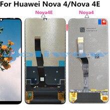 nova 4eLCD For Huawei 4 nova4E / P30 lite LCD Display Touch Screen Digitizer Assembly  for phone nova4 replacement