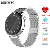 DEHWSG Bluetooth Smart Watch DH07 Waterproof IP67 Wristwatch Heart Rate Monitor Alarm Clock Sport Watch For