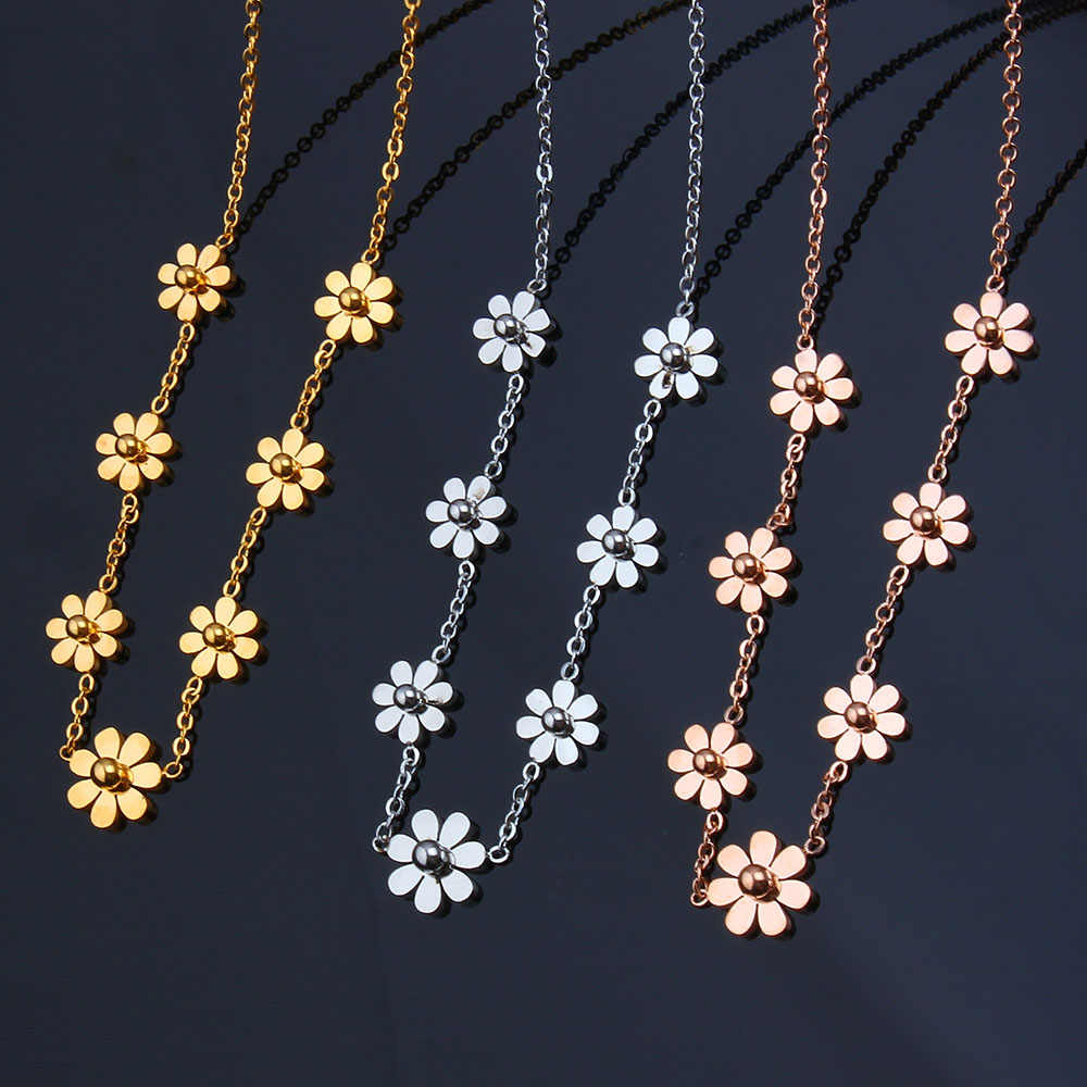 SHE WEIER stainless steel chain vintage chocker best friends necklaces & pendants indian jewelry women's clothing accessories