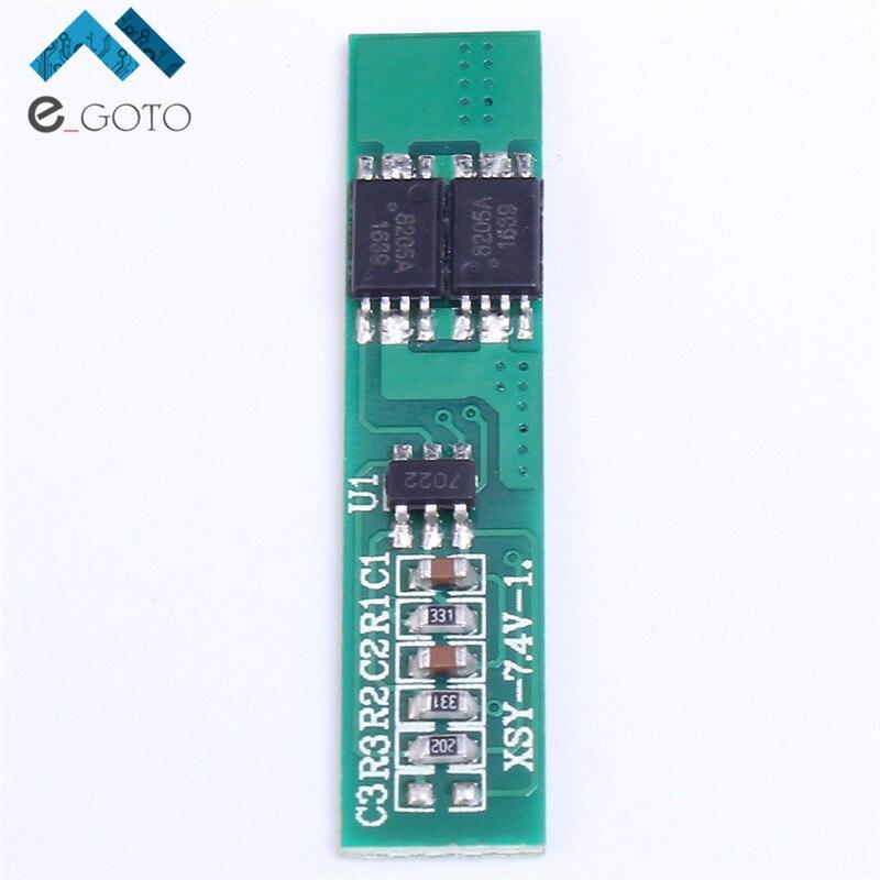 3 шт. 7.4 В 2 S литий-полимерный Батарея защиты доска 2 Последовательный короткого замыкания литий-ионный заряд модуль bms PCM ионный <font><b>li</b></font>