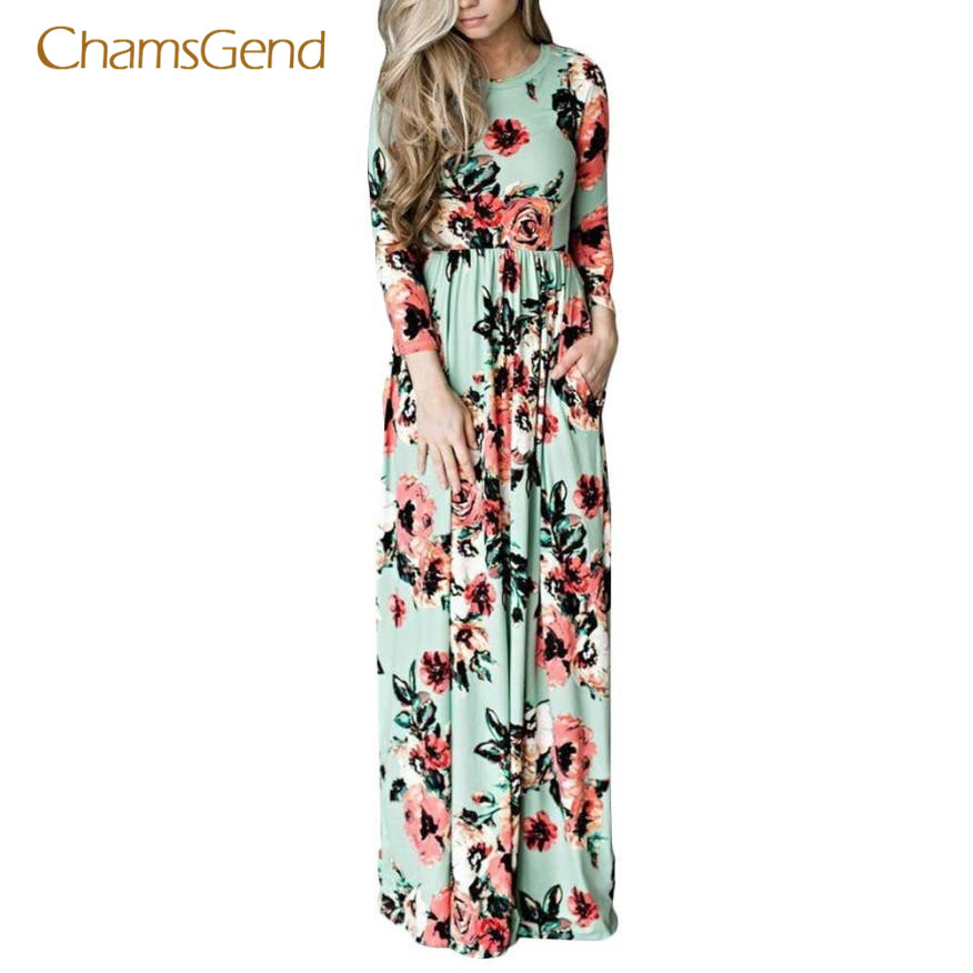 CHAMSGEND winter dress solid sweater dress Womens Maxi Dress Plus Size Vestido Longo Boho Bohemian dresses large sizes nov21