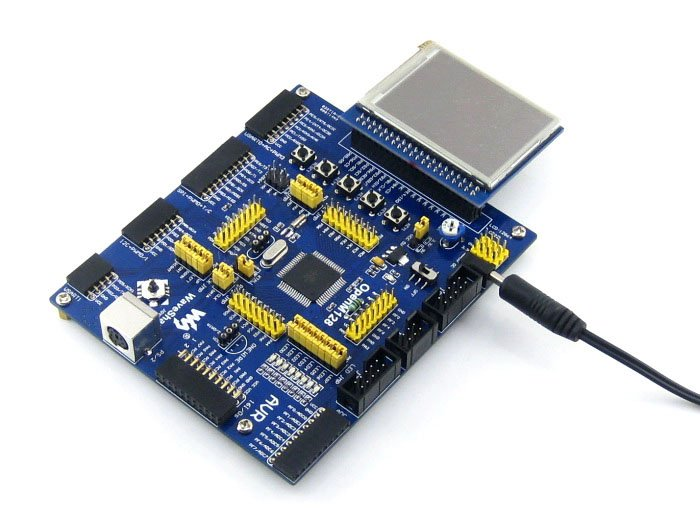 AVR Development Board ATmega128A-AU 8-bit RISC AVR ATmega128 Development Board +11 Accessory Kits =OpenM128 Package B