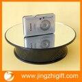 Frete Grátis Dia 200mm Preto Rotary Display Stand para jóias & visor do telefone móvel com espelho
