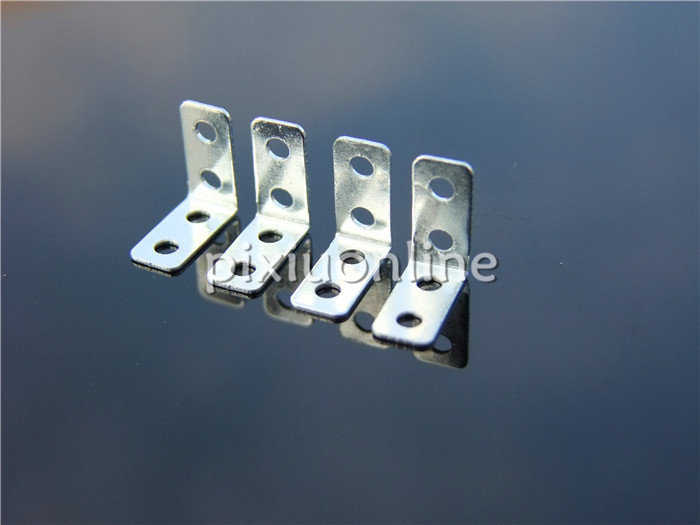 10pcs/lot K781 Multi Hole Right Angle Iron Hole Diameter 2.05mm for DIY Model Making Free Shipping USA 20222426 drawbars