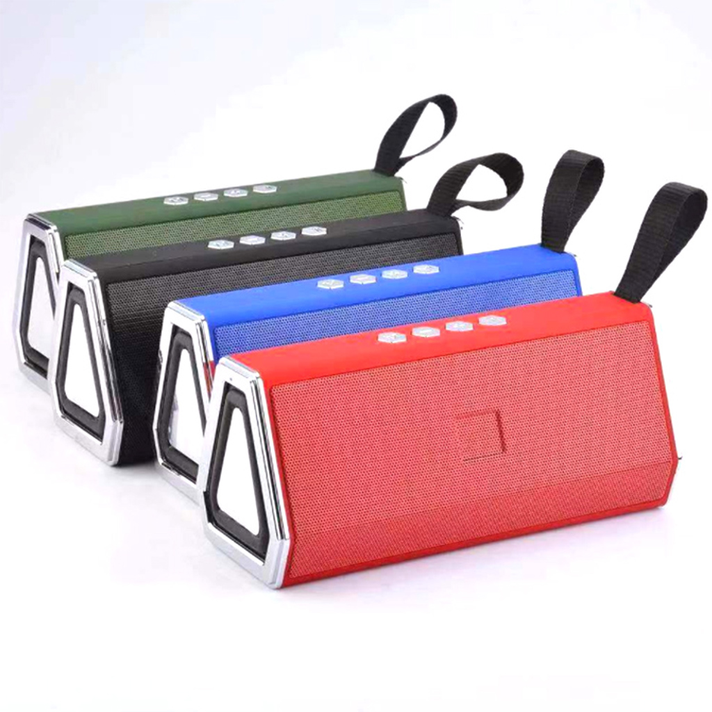 M522 Portable Bluetooth Speaker Wireless Loudspeaker HiFi Stereo Column Music Dual Horn Boom Box Support AUX TF Card FM