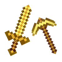 Minecrafter Weapon Action Figure Toy Mosaic Converted Diamond Brinquedos Plastic Minecrafted Cosplay Toy For Kids