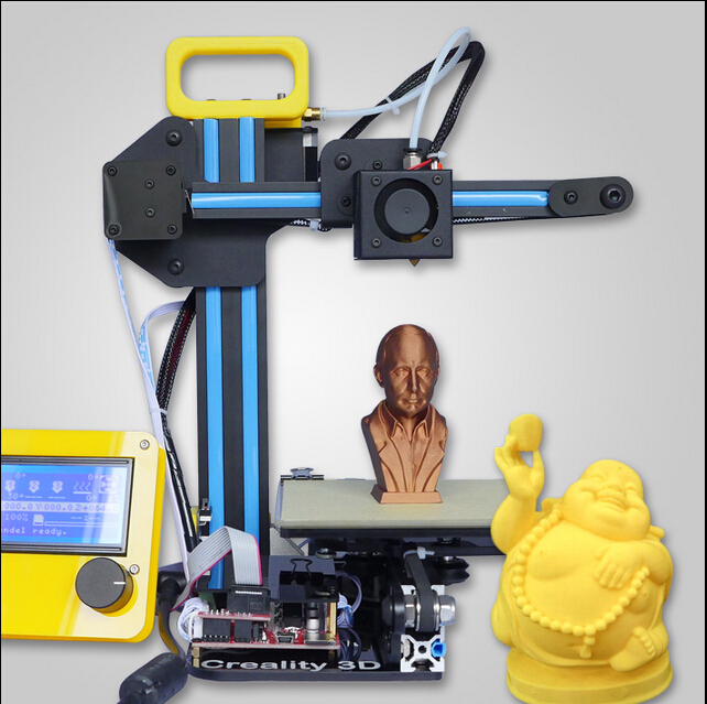 2015 Prototyping Latest Technology Mini Prusa i3 3d printer high precision Portable 3d Printing Only 4.8KG weight