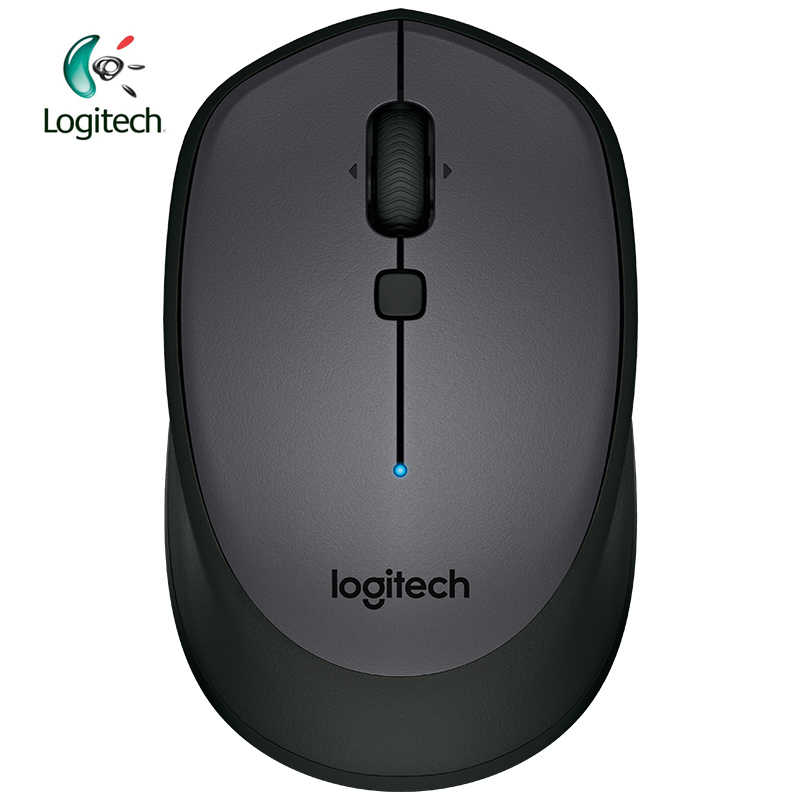 Logitech Asli M336 Nirkabel Bluetooth Mouse dengan Warna-warni 1000 Dpi untuk Windows 7/8/10 mac OS X 10.8, Chrome OS, Android 3.2
