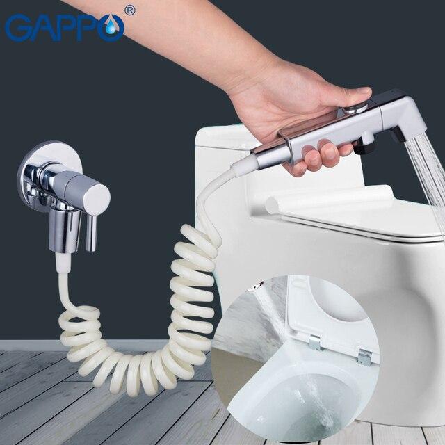 GAPPO Bidets ручной Душ биде портативный туалет душ гигиенический душ смеситель настенный опрыскиватель кран
