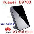 Desbloqueado huawei b970b b970 originais 3g hsdpa roteador sem fio 3g router WI-FI 3g dongle 900/2100 MHz pk e5172 roteador b593 b683 b970 b681