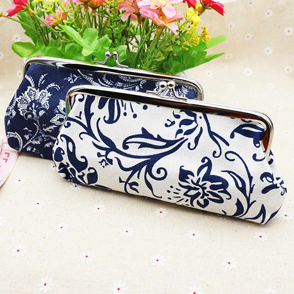 Hot Sale Women Coin Purse Cute Wallet Lady Retro Vintage  Small Wallet Hasp Purse Kawaii Bag Clutch Bag Monedero 1.48