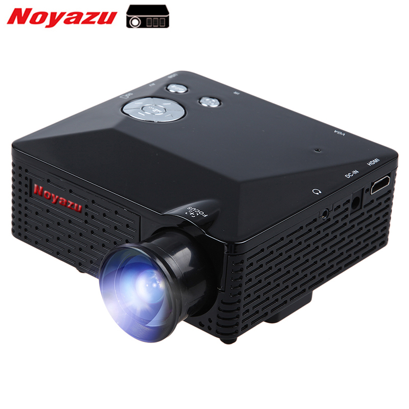 Noyazu Mini LED Projector  LCD 60 Lumen Portable Pocket Proyector Projetor Home Theater Proyectores AV/VGA/USB/HDMI cheap china digital 1000lumens hdmi usb home theater best hd 1080p portable pico lcd led video mini projector beamer proyector