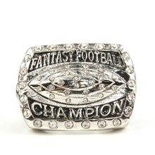 2016 fantasy football glory anillo souvenir campeonato anillos deportivos
