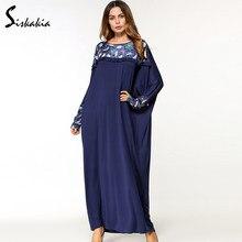 e04f97f42087f Lace Maxi Dress Lengan Panjang Untuk Muslim-Beli Murah Lace Maxi ...