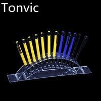 Tonvic toptan Kozmetik Fırça Göz Farı Kalem Kalem Ruj Ekran Standı Raf Destek Tutucu Masası Için 30 cm * 4.5 cm * 8 cm