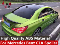 For Mercedes Benz CLA Spoiler CLA45 W117 C117 Rear Trunk Wings Spoiler cla 200 250 260 2013 2014 2015 2016 2018