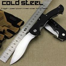 HOT Folding Knife Clod Steel Tactical Knife 5Cr15Mov Blade G10 Handle Pocket Hunting Survival Camping Knives Outdoor Tools KN210