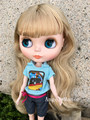 Nude Blyth Doll ,with gold- brown hair, Fashion doll Suitable For DIY Change BJD , For Girl's Gift,Free shipping ZP001