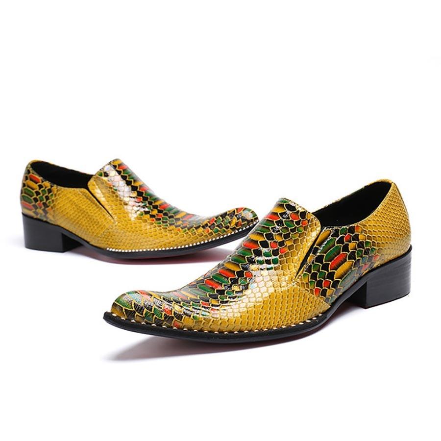 Farbe Mit Schuhe Frühling Muster Merkmale Persönlichkeit Gelb Wies Herbst Tycoon Männer Und Krokodil FwSq6fdcF