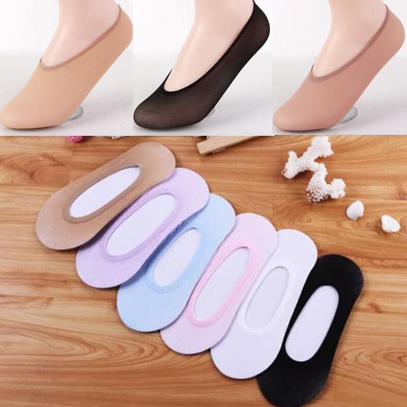 10 Pairs Ladies Women Invisible Footsies Shoe Liner Trainer Ballerina Boat Socks 2019