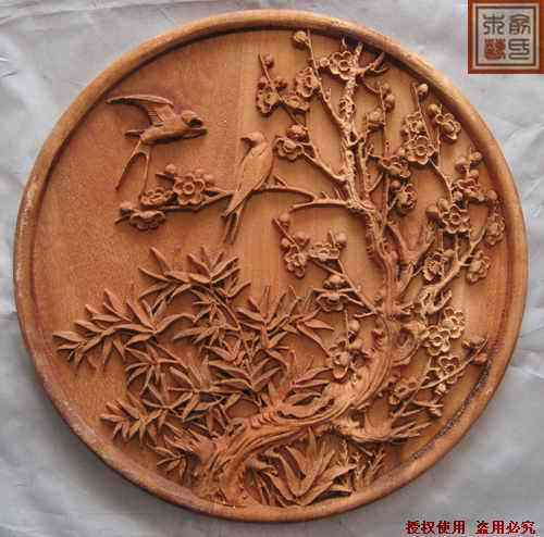 Dongyang wood carving crafts chinese style antique relief camphor