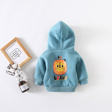 BraveFist Winter Warm Baby Boys Long Sleeve Cartoon Cotton