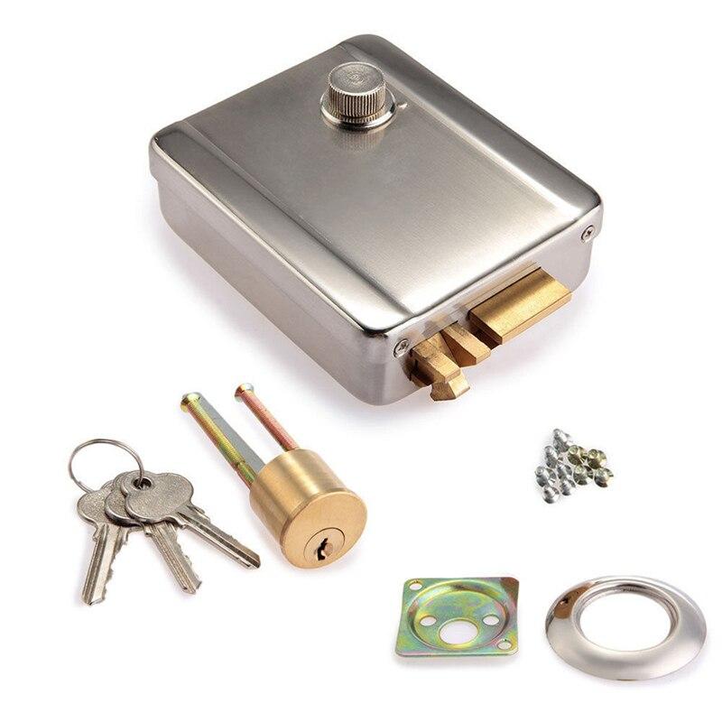 DANMINI Electric Control Lock Electronic Magnetic Door Lock For 12V DC Access Control System Video Intercom Door Phone System