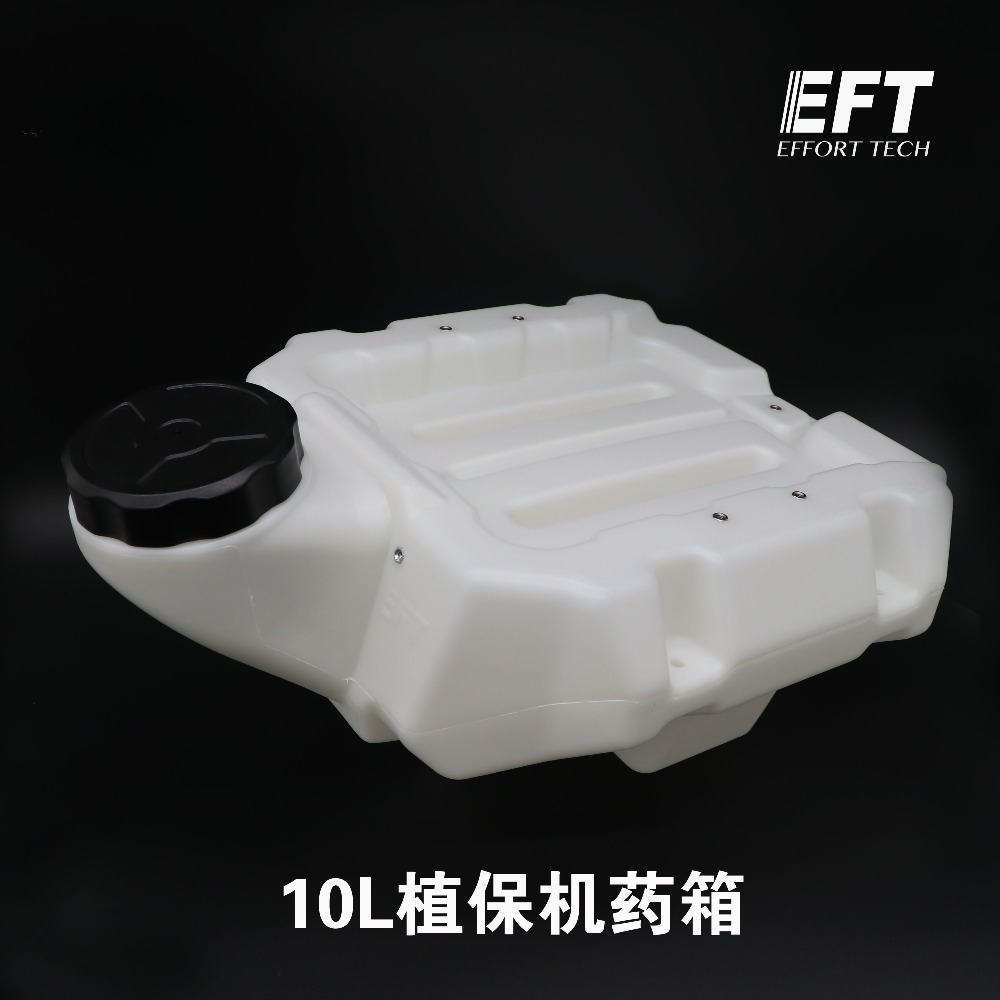 EFT وقاية النبات drone المضادة للصدمة 10L صندوق دواء خزان المياه للزراعة وقاية النبات Drone-في قطع غيار وملحقات من الألعاب والهوايات على  مجموعة 1