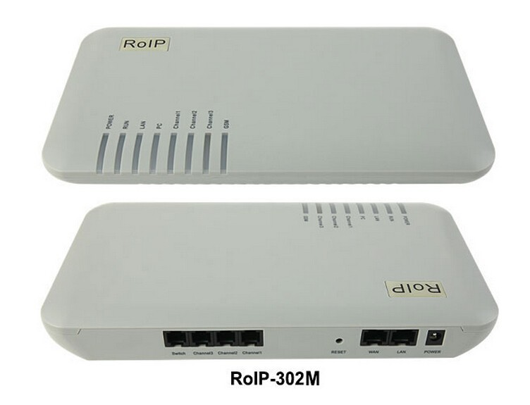 FAST SHIP! RoIP-302M(1-Sim Card Port)Use local SIP PROXY, support group mode Open Standard VoIP Protocols IETF SIP V2