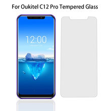 For Oukitel C12 Pro C4 C5 C8 K10000 Pro Screen Protector Tempered Glass For Oukitel K3 k5 K6 K8 K6000 Plus Protective Film Glass(China)