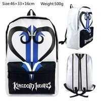 2018 Mochila Feminina Mochilas Kingdom Hearts Backpack School Bag Shoulders Anime Printing Knapsack Travel Shingeki No Kyojin
