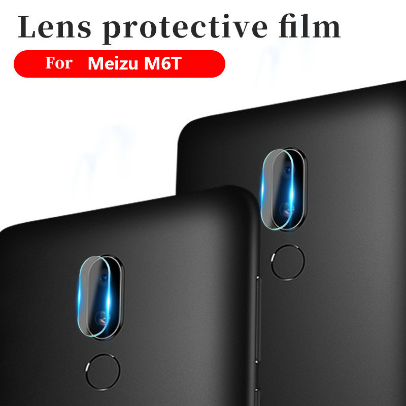 25D Camera Lens Film For Meizu16 16plus 16X 16S Pro7 Pro7plus Tempered Glass On For Meizu M5 M6 M8 M9 Note M6T Back Camera Lens