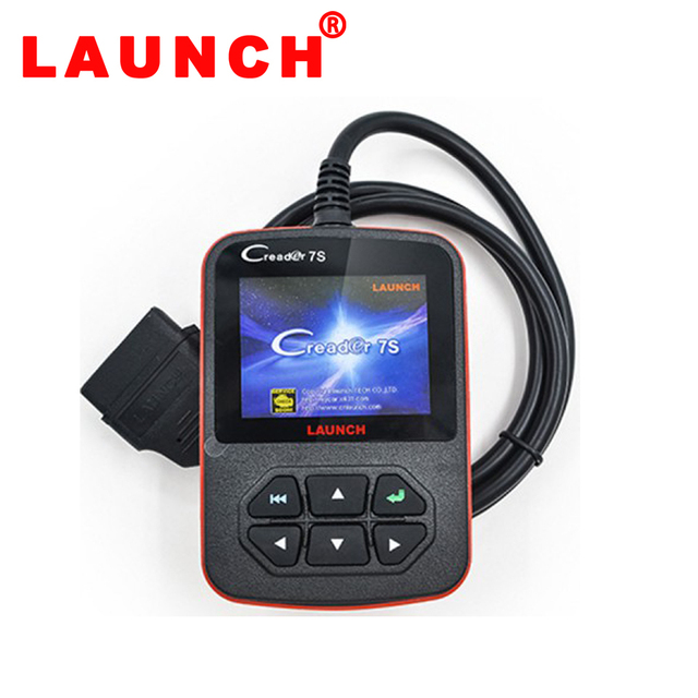 2017 New Released Original Launch X431 Creader VII Plus Code Reader + Oil Reset Function Creader 7S Update on Official Website