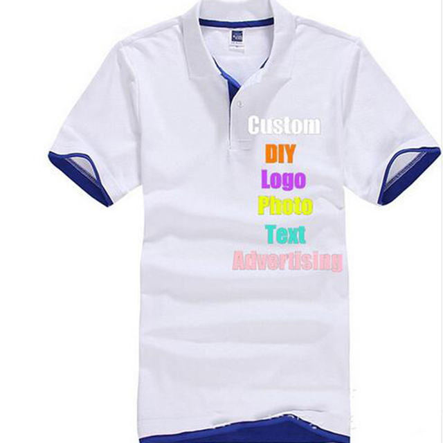 47da199fd7a Custom Made Class Work Uniform Men Women T shirt Logo Photo Company Text  Name Print man Lady Tee Top 3xl DIY advertising T-shirt