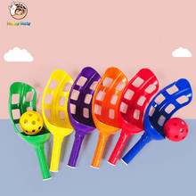 1 Pair Children Throwing and Catching The Ball Set Parent-child Interactive Catch ball Toy Indoor Outdoor Sports Games Toys цена