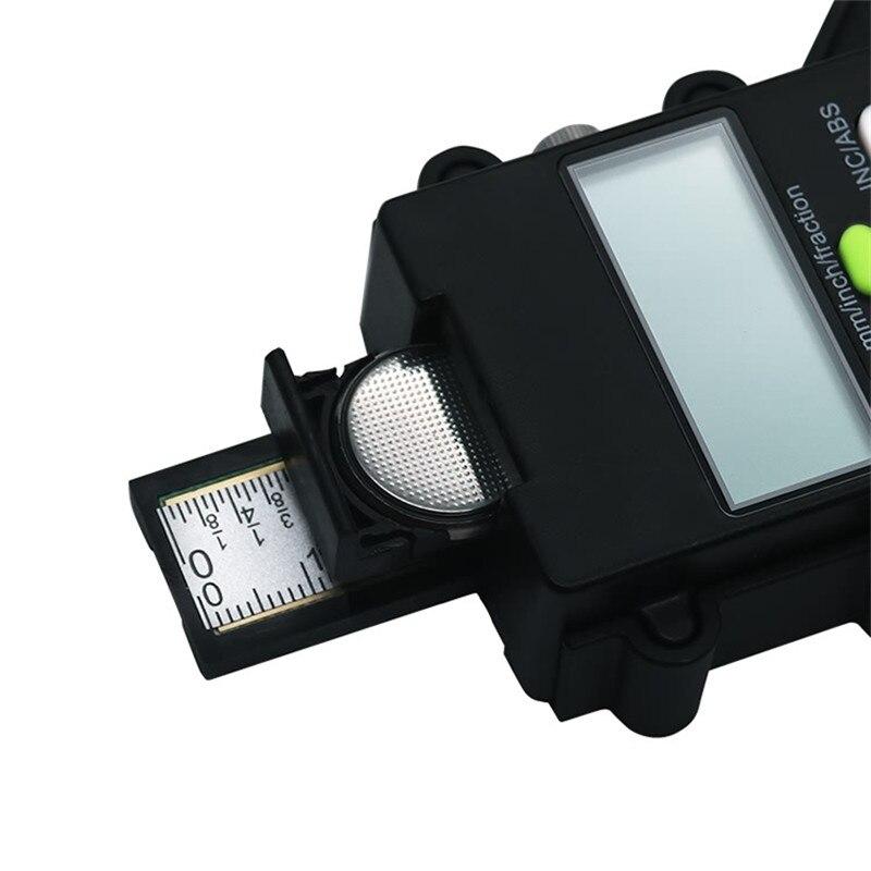 Digital-Depth-Gauge-LCD-Tyre-Tread-Gauge-Magnetic-Self-Standing-Feet-Aperture-80mm-Hand-Router-Depth