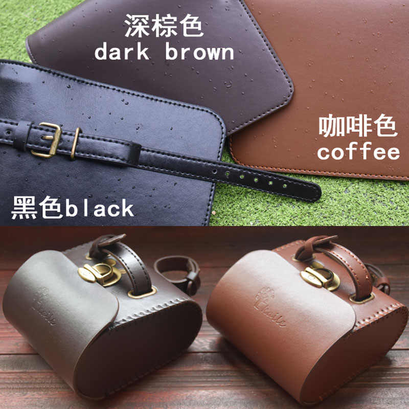 Bicycle Saddle Bag Hand Made Retro PVC Leather Pouch Front Back Seat Tail Bags