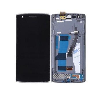 Cao chất lượng hiển thị LCD với màn hình cảm ứng digitizer lắp ráp Cho Oneplus Một Cộng Với 1 + A0001 với Khung